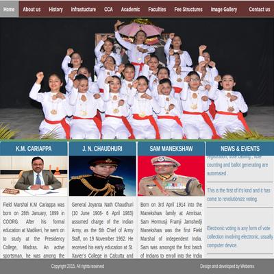 Army Public School, Narangi
